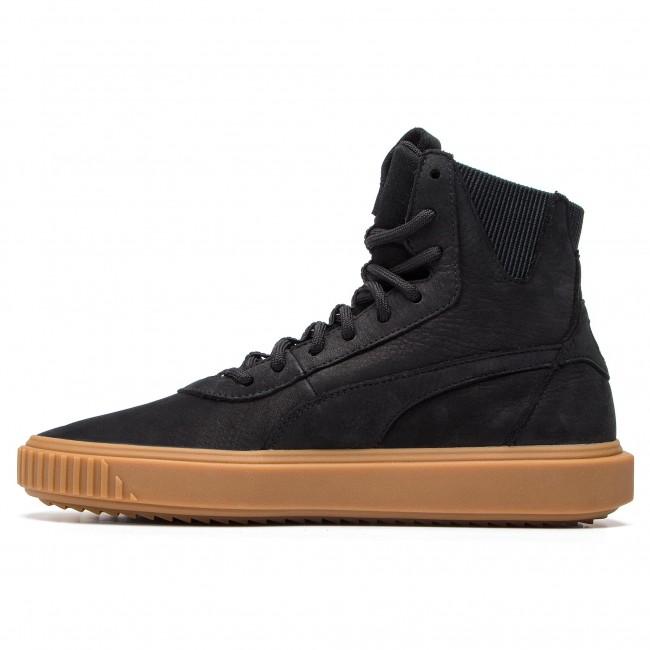 994e8a9428aa16 Sneakers PUMA - Breaker Hi Gum 367715 01 Puma Black Puma Black - Sneakers -  Low shoes - Men s shoes - www.efootwear.eu