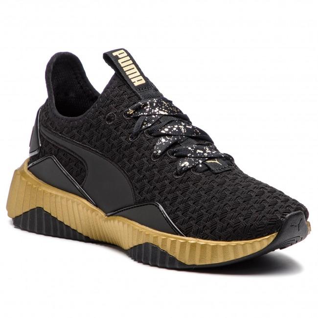Sneakers PUMA - Defy Sparkle Wn s 191585 02 Puma Black Puma Team Gold 462fa620c