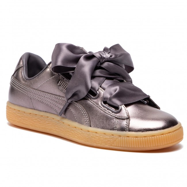 Shadequiet Luxe Basket Wn's Quiet Sneakers 01 Heart Puma 366730 wFzn8g4q