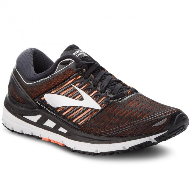 dab29eea299 Shoes BROOKS - Transcend 5 110276 1D 092 Black Orange Silver ...