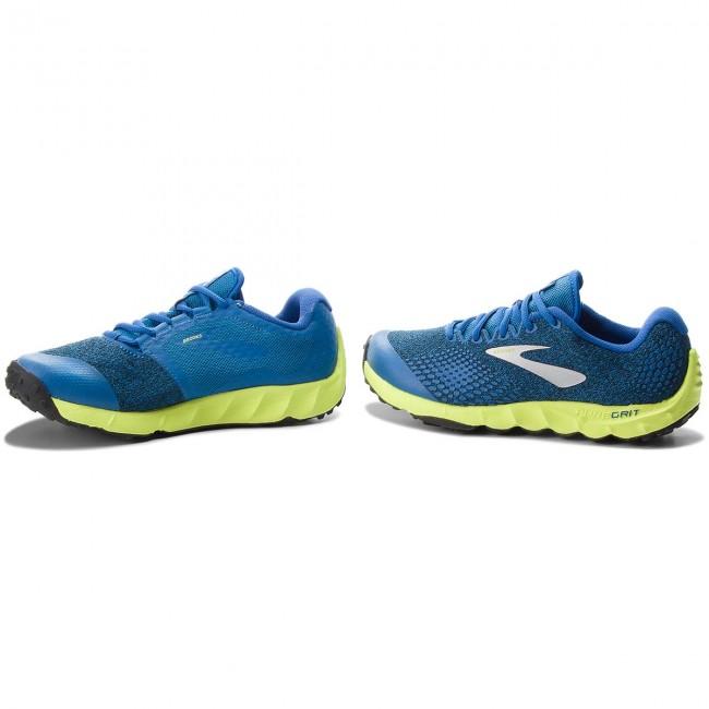63087ffa415 Shoes BROOKS - PureGrit 7 110291 1D 492 Blue Lime Black - Outdoor ...