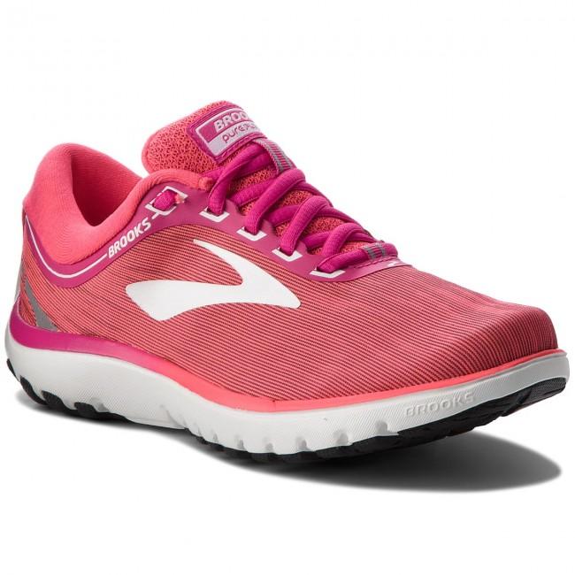 1b Pureflow 684 120262 Brooks 7 Shoes Pinkpinkwhite Indoor WHRnBgP