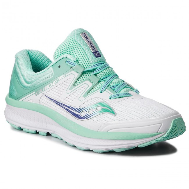 Shoes SAUCONY - Guide Iso S10415-35 Wht Aqu - Indoor - Running shoes ... b8e809ddb1