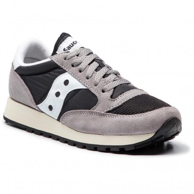 37 Greyblackwhite Original Sneakers Vintage Jazz S70368 Saucony POkn0w