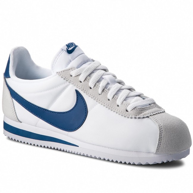 low priced 7bfed 8cc3e Shoes NIKE. Classic Cortez Nylon 807472 102 White Gym Blue