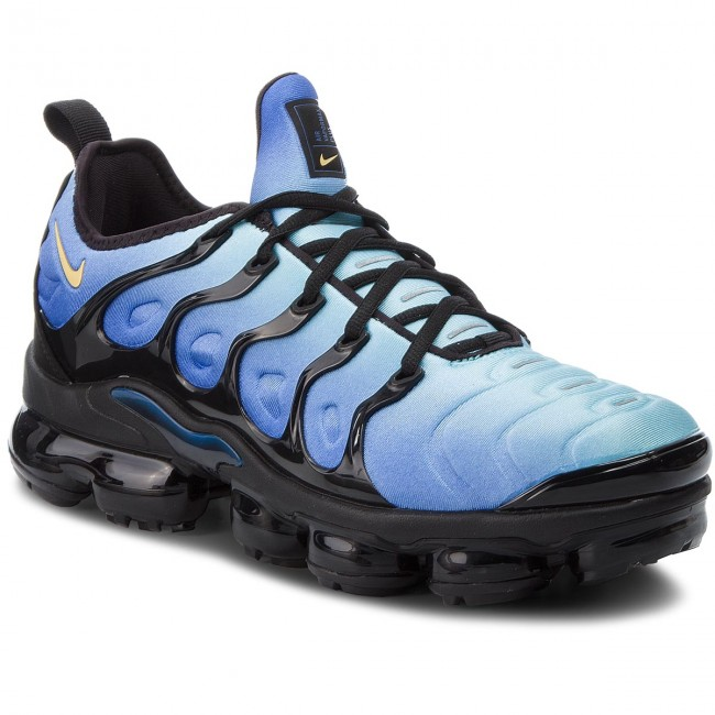 5519e589264b Shoes NIKE - Air Vapormax Plus 924453 008 Black Chamois Hyper Blue ...