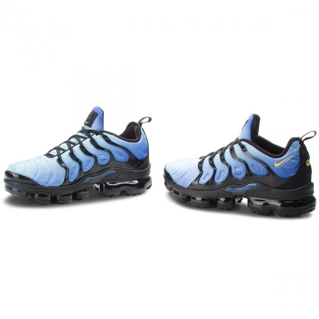 11b8a723483d Shoes NIKE - Air Vapormax Plus 924453 008 Black Chamois Hyper Blue ...