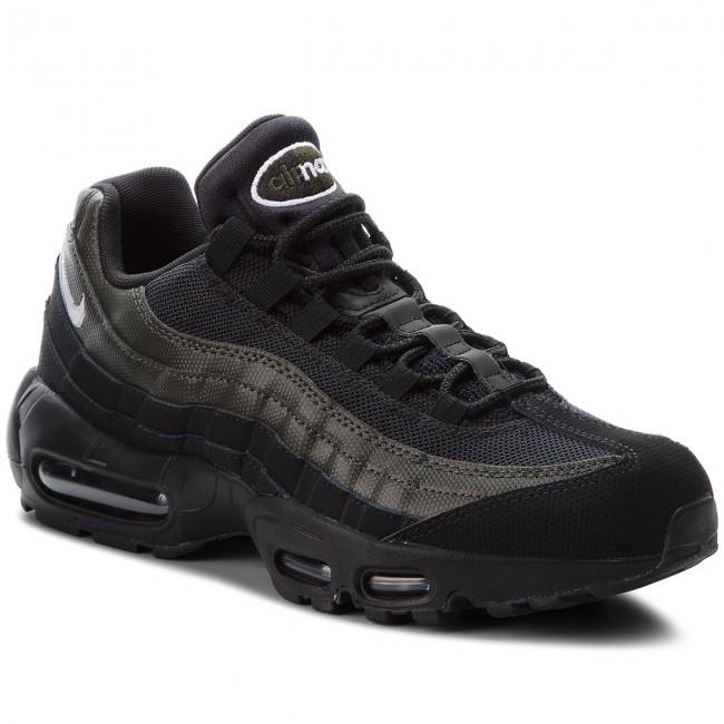 newest f22e8 20d8e Shoes NIKE. Air Max 95 Essential 749766 034 Black White Sequoia