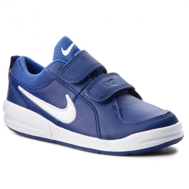 07c4e166c0ef Shoes NIKE - Pico 4 (PSV) 454500 409 Deep Royal Blue White - Velcro ...