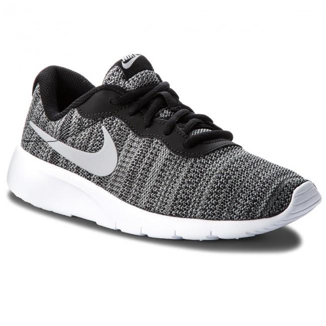f5ff1f541f283d Shoes NIKE - Tanjun (GS) 818381 019 Black Wolf Grey White - Sneakers ...