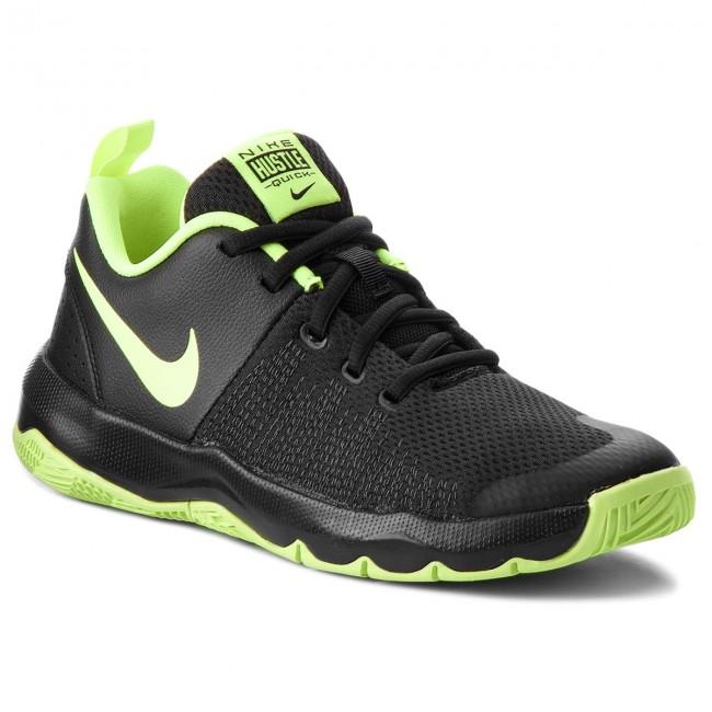 Shoes NIKE - Team Hustle Quick (GS) 922680 009 Black Volt White ... 8575a3fde