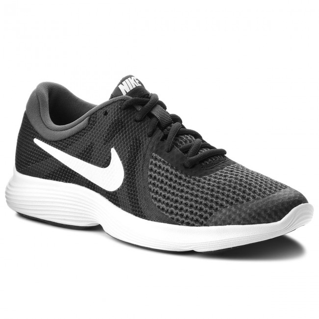 6c447e7d743 Shoes NIKE - Revolution 4 (GS) 943309 006 Black White Anthracite ...