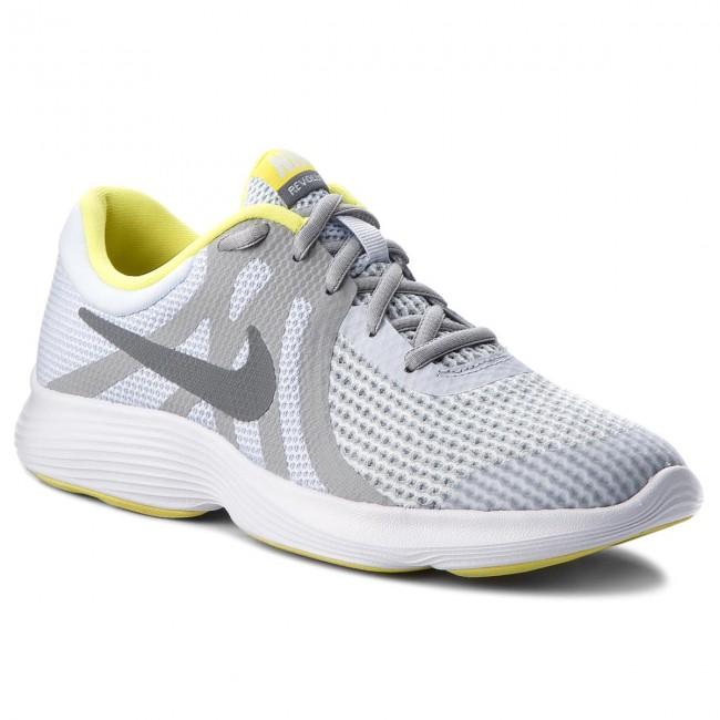 super popular 07e7e f47cc Shoes NIKE - Revolution 4 (GS) 943309 011 Football Grey Cool Grey