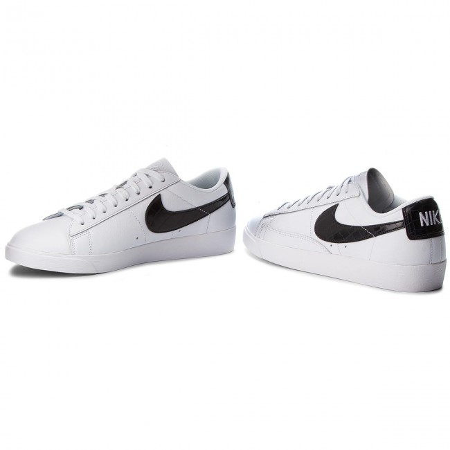 92559d651e57 Shoes NIKE - Blazer Low BQ0033 100 White Black - Sneakers - Low ...