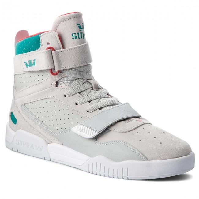 c49ac3f1cfad Sneakers SUPRA - Breaker 05893-057-M Lt Grey Teal White - Sneakers ...