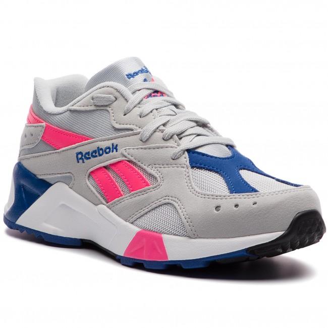 1a992e63a06 Shoes Reebok - Aztrek DV3941 Grey Acid Pink Royal Wht - Sneakers ...