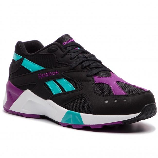 78210950b8d Shoes Reebok - Aztrek DV3943 Blk Teal Abergine Wht Gry - Sneakers ...