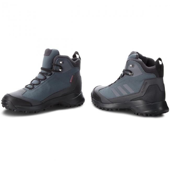 Details about Adidas Perfromance Men's Outdoor Trekking Shoes Boots Terrex Heron Black show original title