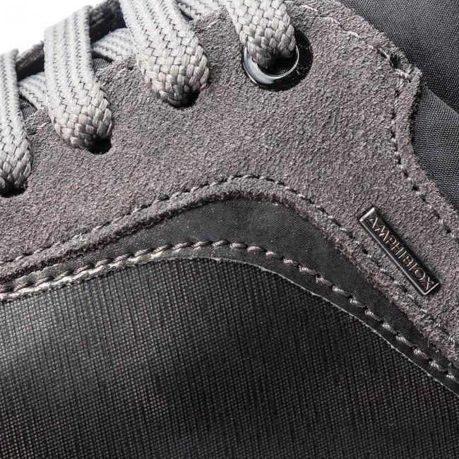 Sneakers GEOX D Aneko B Abx A D843FA 0LYMC C1G9F GunDk Grey