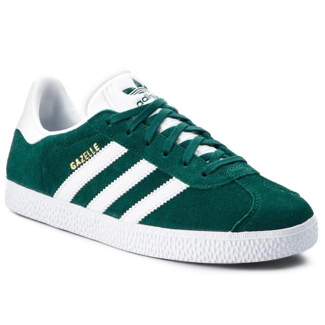 Shoes adidas - Gazelle J AQ1122 Nobgrn Ftwwht Nobgrn - Flats - Low ... d010c84d4