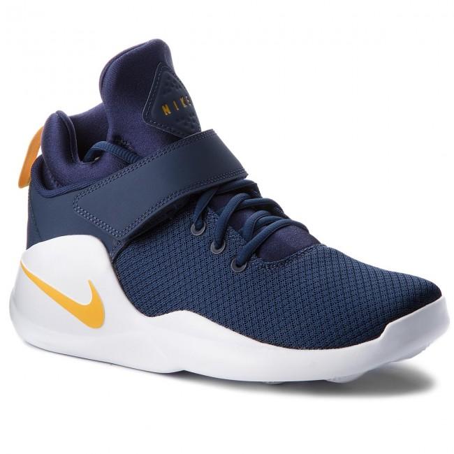 buy popular f1e7f c652e Shoes NIKE - Kwazi 844839 401 Midnight Navy Yellow Ochre - Sneakers - Low  shoes - Men s shoes - efootwear.eu