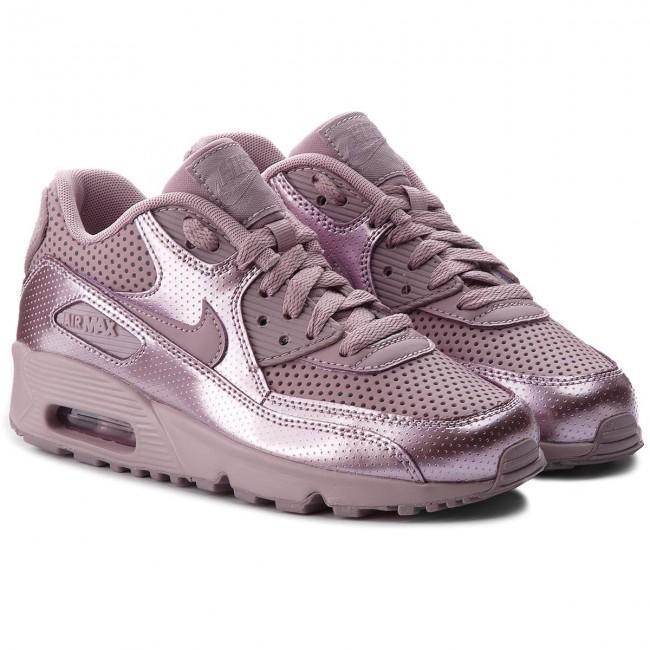 Schuhe NIKE Air Max 90 Se Ltr (GS) 859633 600 Elemental RoseElemental Rose