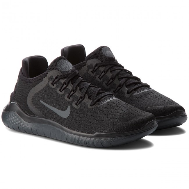 f05bbe29e61bd Shoes NIKE - Free Rn 2018 942837 002 Black Anthracite - Indoor ...