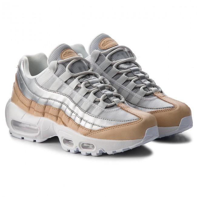 a4222f4f2f Shoes NIKE. Air Max 95 Se Prm AH8697 002 Pure Platinum/Metallic Silver