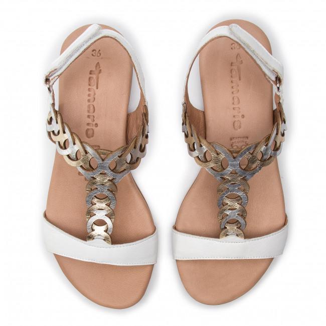 Sandals TAMARIS 1 28127 22 White Comb 197 Casual sandals