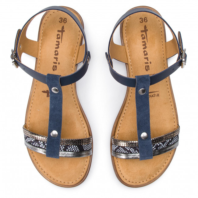 Sandals TAMARIS 1 28149 22 Navy Comb 890