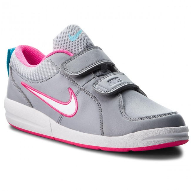 de68486cf20dcd Shoes NIKE - Pico 4 (PSV) 454477 010 Wolf Grey White Clearwater ...