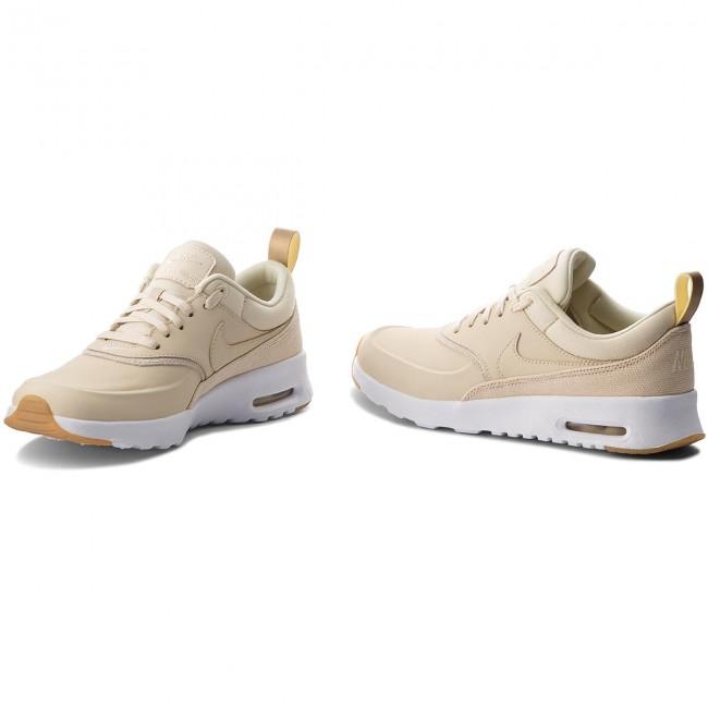 hot sale online 6b13b c6b54 Shoes NIKE - Air Max Thea Prm 616723 204 Beach Beach Metallic Gold