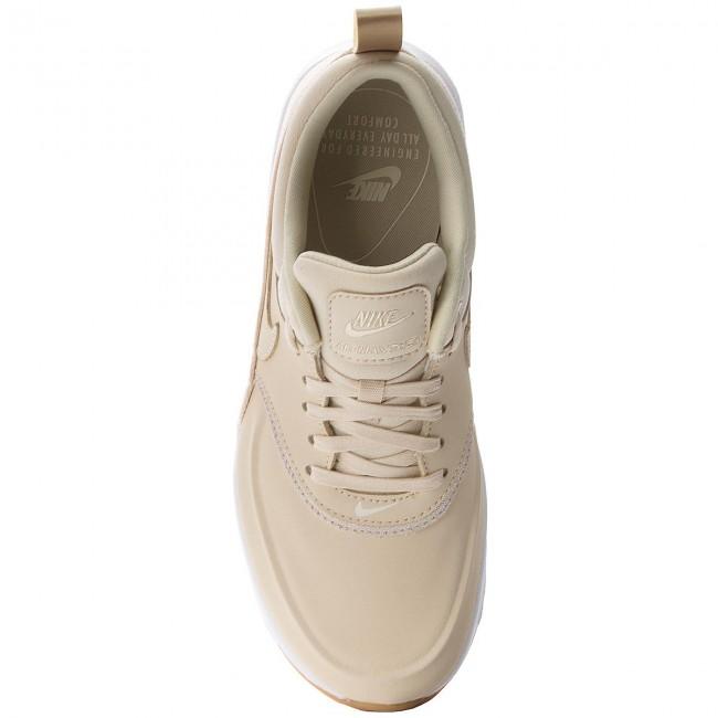 fd568fb1b4 Shoes NIKE - Air Max Thea Prm 616723 204 Beach/Beach/Metallic Gold/Sail -  Sneakers - Low shoes - Women's shoes - www.efootwear.eu