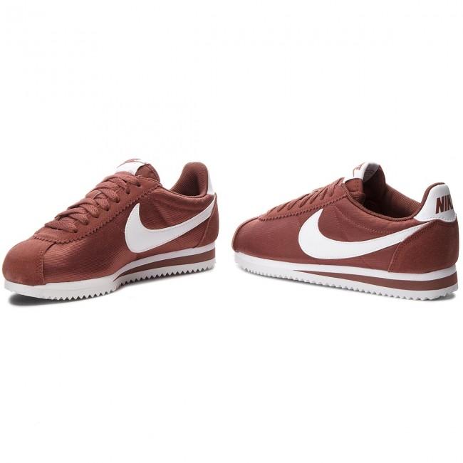 hot sales e93ef 7d0e9 Shoes NIKE - Classic Cortez Nylon 749864 203 Red Sepia White