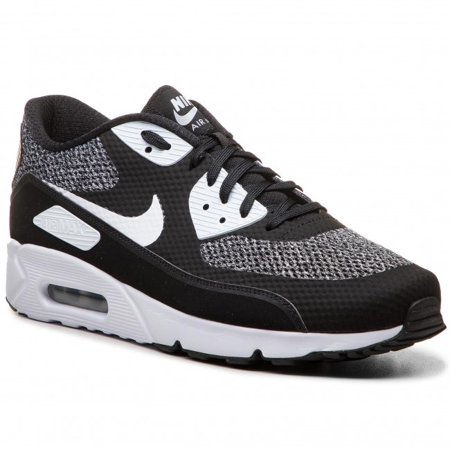 online store 784ec 6f054 Shoes NIKE. Air Max 90 Ultra 2.0 Essential 875695 019 Black White Metallic  Silver