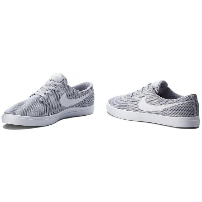 4a10ed1a40b9fa Shoes NIKE - Sb Portmore II Ultralight 880271 011 Wolf Grey White ...