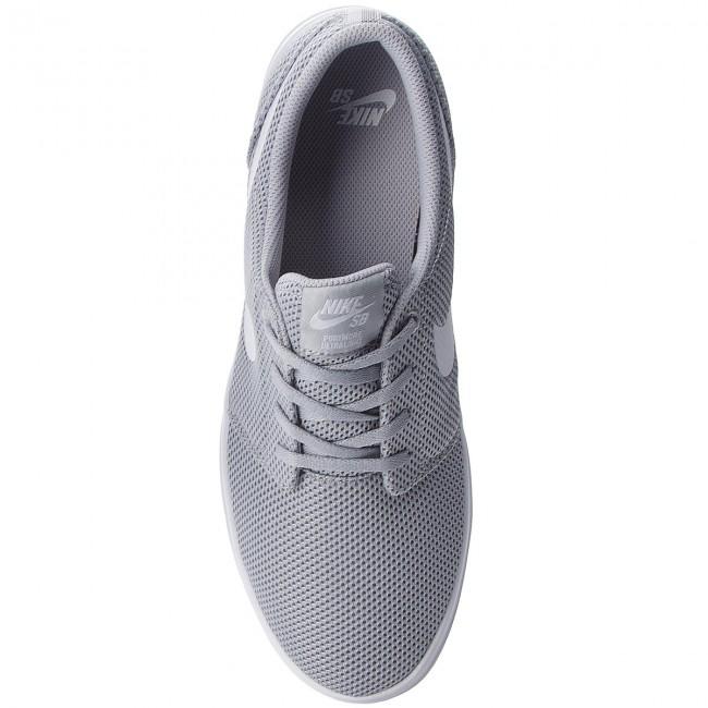 cadecf7daf6d44 Shoes NIKE - Sb Portmore II Ultralight 880271 011 Wolf Grey White -  Sneakers - Low shoes - Men s shoes - www.efootwear.eu