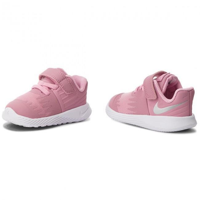 Shoes NIKE - Star Runner (TDV) 907256 601 Elemental Pink Metallic Silver f6336216b