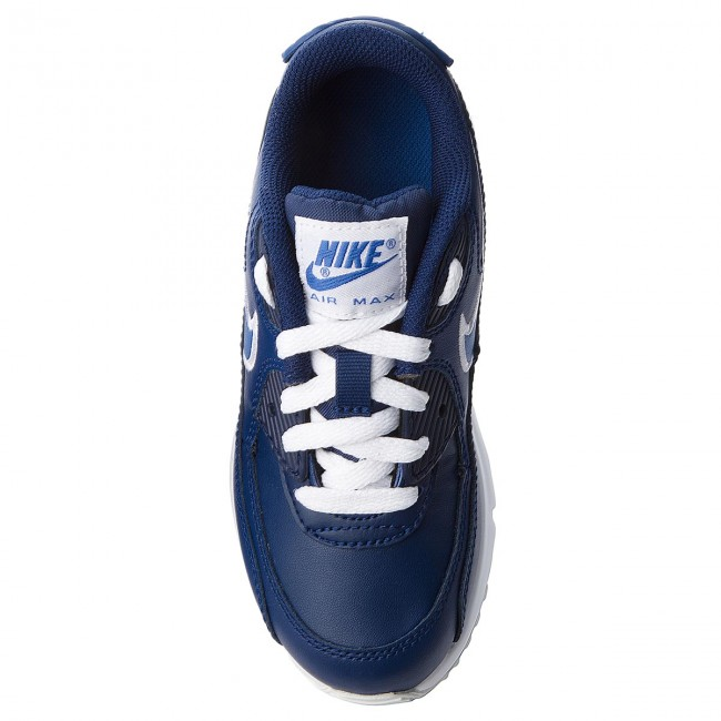 Shoes NIKE Air Max 90 Ltr (PS) 833414 409 Blue VoidGame RoyalWhite