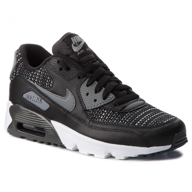 Shoes NIKE Air Max 90 Mesh Se (GS) AA0570 002 BlackCool GreyAnthracite
