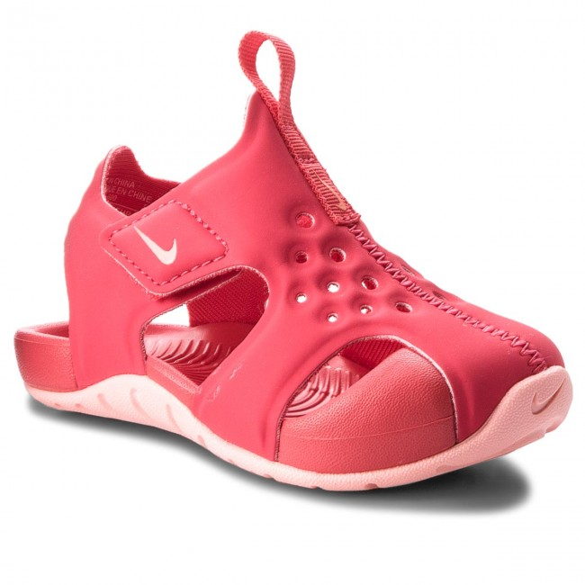 278e6f319f0525 Sandals NIKE - Sunray Protect 2 (TD) 943829 600 Tropical Pink Bleached Coral