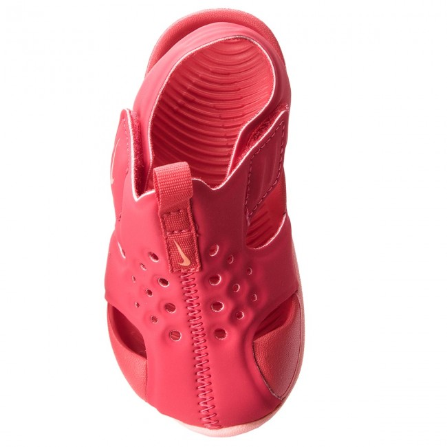 Sandals NIKE - Sunray Protect 2 (TD) 943829 600 Tropical Pink Bleached Coral  - Sandals - Clogs and sandals - Girl - Kids  shoes - www.efootwear.eu cc1af589c