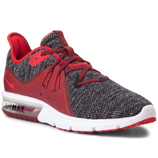 97cd0b9f7d Shoes NIKE - Air Max Sequent 3 921694 015 Black/University Red/White ...