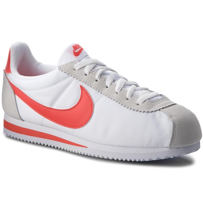 91fff11130 Shoes NIKE - Classic Cortez Nylon 807472 101 White Habanero Red ...