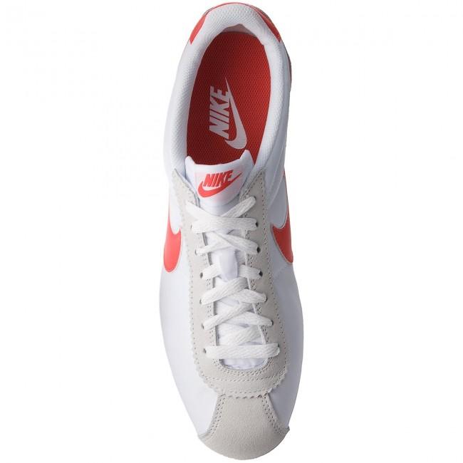 7a4ba660f9 Shoes NIKE - Classic Cortez Nylon 807472 101 White Habanero Red - Sneakers  - Low shoes - Men s shoes - www.efootwear.eu