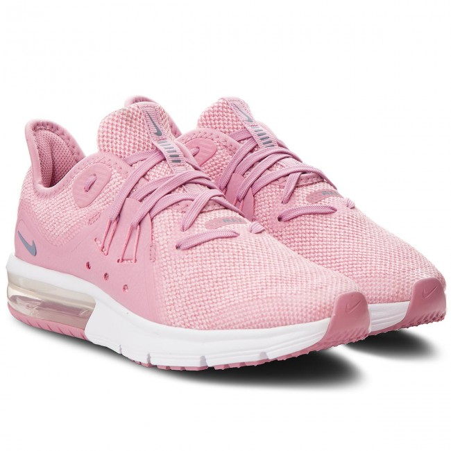 Shoes NIKE Air Max Sequent 3 (GS) 922885 601 Elemental PinkAshen Slate