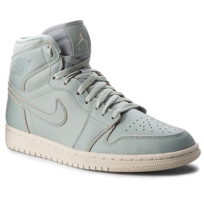 online store eb9c9 6fde8 Shoes NIKE. Air Jordan 1 Retro Hi Prem AA3993 333 Mica Green Mica Green