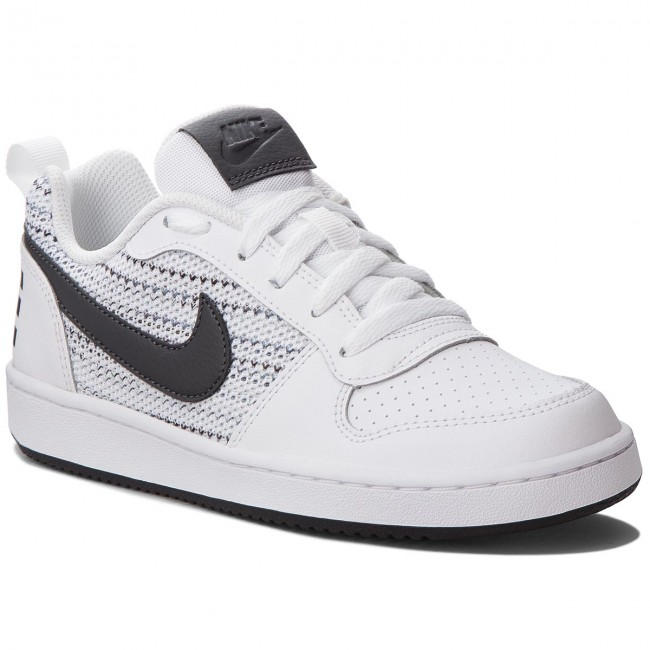buy online 46bfb 8f11f Shoes NIKE - Court Borough Low Se (GS) AA2902 100 White Anthracite