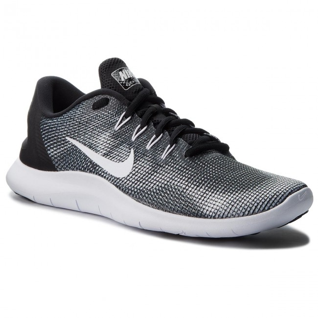 c9ff2db7dcf37 Shoes NIKE - Flex 2018 Rn AA7397 001 Black White - Indoor - Running ...