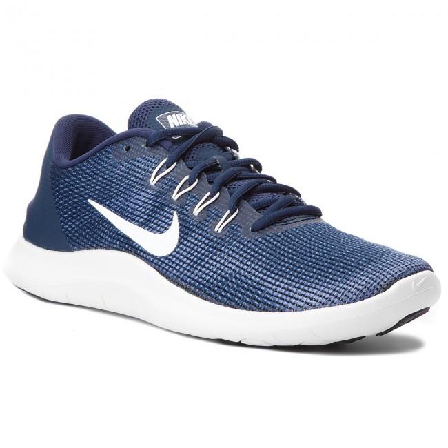 03c61f59c7f3 Shoes NIKE - Flex 2018 Rn AA7397 400 Midnight Navy White - Indoor ...